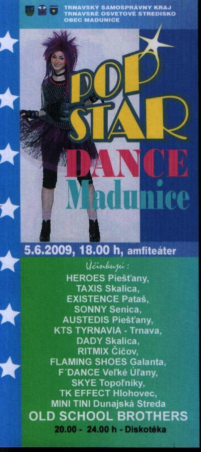 POP STAR DANCE MADUNICE